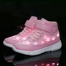 Led Light Shoes Near Me Kids Led Light Up Shoes Usb Charging Flashing Luminous