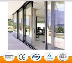 elegant design aluminum sliding door