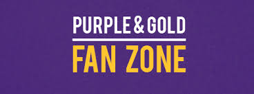 Welcome Purple The Purple And Gold Fan Zone Sports Radio Kwsn 1230 Am