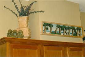 Decorating Above Kitchen Cabinets Above The Kitchen Cabinets Decorations Elegant Upper Kitchen