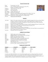 resume for overseas employment resume ideas