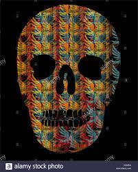 Tattoo Tribal Mexican Skull Vector Art Stock Vector Art