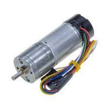 12 V 25 mm 100 RPM Enkoderli Yüksek Güçlü 99:1 Redüktörlü DC Motor Satın Al