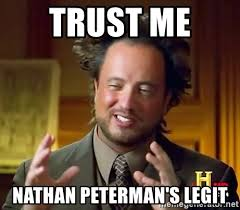 Image result for nathan peterman meme