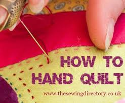 Hand Quilting & Learn how to hand sew a quilt Adamdwight.com