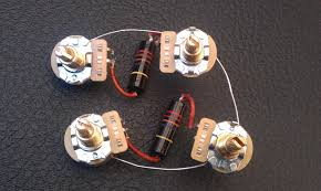 guitar wiring harnesses 1950 s les paul standard available