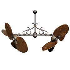 twin star ii ceiling fan antique bronze 900 series arbor blades scroll optional