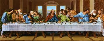 the picture of last supper painting leonardo da vinci the picture of last supper art