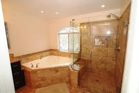 Creativity Master Bathroom Corner Showers Tub Shower Seat Reconfiguration Yorba Linda In Design Inspiration