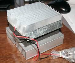 thermoelectric air cooling for cars