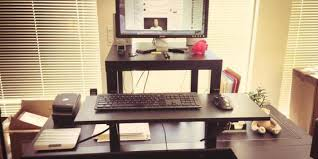 Standing Desk Extension This 22 Standing Desk Is The Ultimate Ikea Hack Huffpost