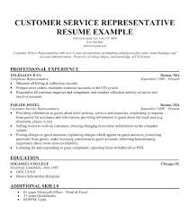 Resume Templates For Customer Service Custom Customer Service Resume Template 28 Sample Resume Templates 28