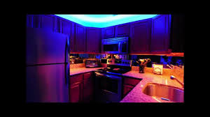 Kitchen Led Lights Above And Under Kitchen Cabinet Led Lighting Youtube