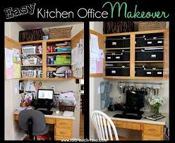 kitchen office organization. Plain Organization Finally Organized Kitchen Office  Iu0027m Almost Embarrassed To Share This  Insane Before Picture I Love Office Space In Our Kitchen But It Turned Into  On Organization I