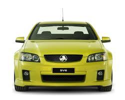 2008 Holden VE UTE Revealed: SS-V Gets 362 Hp V8