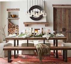 black dining room table pottery barn. full size of house:benchwright extending dining table bench set o elegant pottery barn room black w