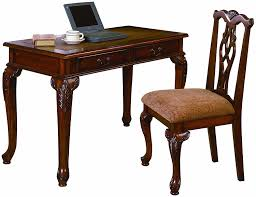 office wood desk. Amazon.com: Crown Mark Fairfax Home Office Desk/Chair Set: Kitchen \u0026 Dining Wood Desk O