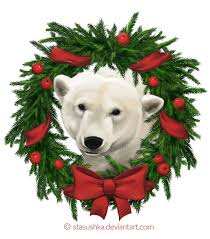 Image result for polar bear christmas