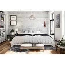 Quickview Queen Size White Platform Beds You\u0027ll Love   Wayfair