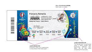 UEFA unveils EURO 2016 ticket design | UEFA EURO 2020