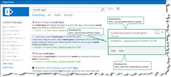 Microsoft Sharepoint Templates How To Display Values From Custom Managed Properties In The Hover