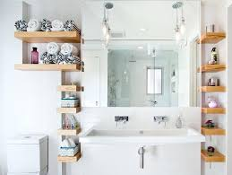 built in bathroom wall storage. Wall Shelves In Bathroom Built Contemporary With Shared Mount . Storage