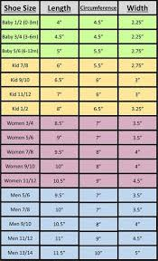 Knitting Sock Measurement Chart Measurement Charts For Hats Gloves And Slippers With