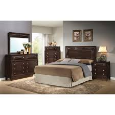 Step One Furniture Bedroom Groups 5-Piece Kingsbury Queen Bedroom ...