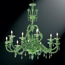 smeraldo green murano glass chandelier murano glass chandeliers