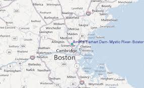 Tide Chart Danvers Ma Amelia Earhart Dam Mystic River Boston Harbor