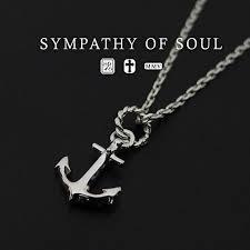 sympathy of soul ankernecklas silver anchor pendant silver necklace set sympathy of soul anchor pendant