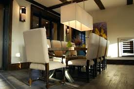 rectangular dining chandelier rectangular shade chandelier dining room rustic with accent lighting dark wood rectangular lighting for dining room