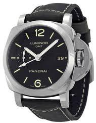panerai watches panerai luxury men s women s watches on panerai luminor 1950 3 days gmt acciaio leather men watch pam00535