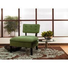 Ave Six Curves Spring Green Velvet Accent Chair-CVS263-G28 - The ...
