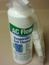 ac coil cleaner. clean your evaporator coils with ac flow coil cleaner o