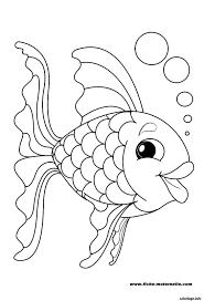 Coloriage Poisson 56 Dessin