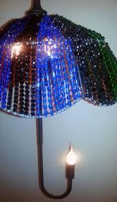 custom made crystal rainbow umbrella light chandelier