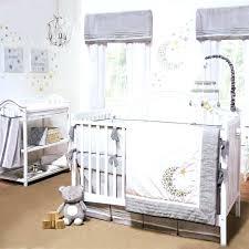 white nursery bedding sets baby crib bedding sets gray white celestial moon w stars uni nursery