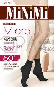 <b>Женские носки Minimi Micro</b> 50 Den calz. Полиамид (Артикул ...