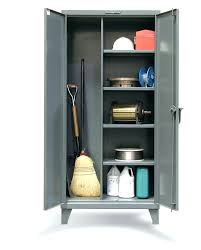 metal storage cabinet with lock. Storage Cabinets With Locks Janitorial Cabinet Metal Combination Lock .