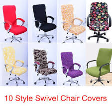 office chair covers. Unique Covers Image Is Loading StretchElasticOfficeComputerSwivelChairCoversSlip Inside Office Chair Covers I