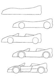 car drawing easy step by step. Interesting Easy How To Draw A Car For Kids Car Drawings Doodle Drawing Lessons On Easy Step By I