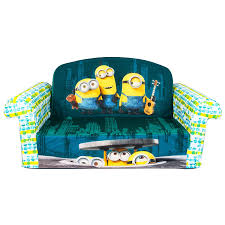 couch bed for kids. Fun Furnishings Toddler Flip Sofa Denim Couch Bed Kids Baby Seat For