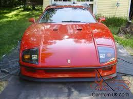 For sale pontiac based ferrari f40 replica gtspirit. 1985 Replica Kit Makes Replica Ferrari F40 Fiero Gt