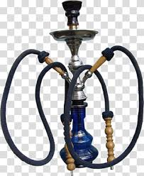 Oriental Blue Gray And Brown Hookah Transparent Background