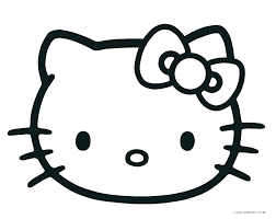 Hello Kitty Coloring Pages Online Hello Kitty Printable Coloring