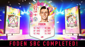 Summer Heat Phil Foden SBC Completed - Tips & Cheap Method - Fifa 20 -  YouTube