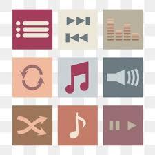Reproduccion D Musica La Reproduccion De Musica Png Vectores Psd E Clipart Para