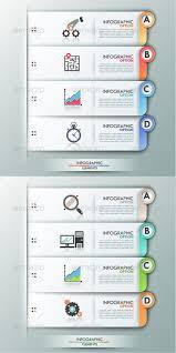 Chart Paper Presentation Modern Infographics Options Banner 2 Versions
