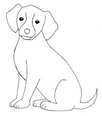 simple dog drawings in pencil.  Simple How To Draw A Dog  Kids Stories Pencil Drawings With Simple Drawings In T